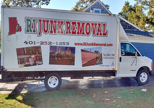 Chevy Box Truck - RI Junk Removal