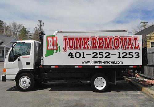 Isuzu Truck - RI Junk Removal